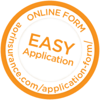 Error and omissions online form button, easy application > link takes you to online application